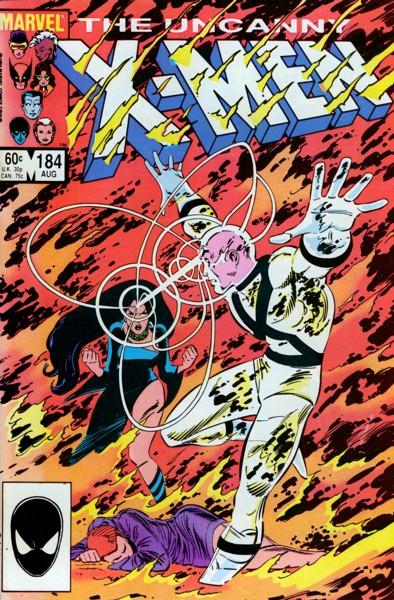 Uncanny X-Men 184 - The Past... of Future Days