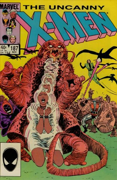 Uncanny X-Men 187 - Wraithkill!