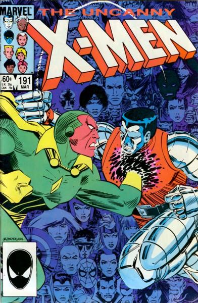 Uncanny X-Men 191 - Raiders of the Lost Temple!