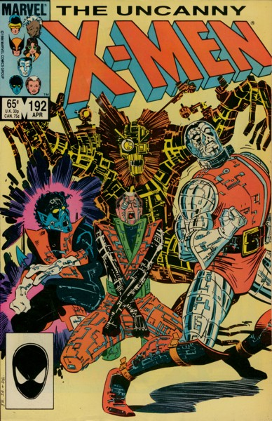 Uncanny X-Men 192 - Fun 'N' Games