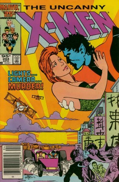 Uncanny X-Men 204 - What Happened to Nightcrawler?