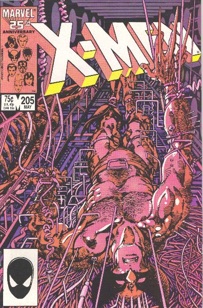 Uncanny X-Men 205 - Wounded Wolf