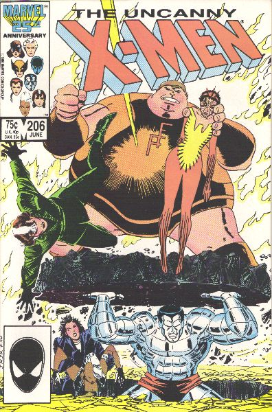 Uncanny X-Men 206 - Freedom is a Four Letter Word!