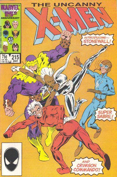 Uncanny X-Men 215 - Old Soldiers