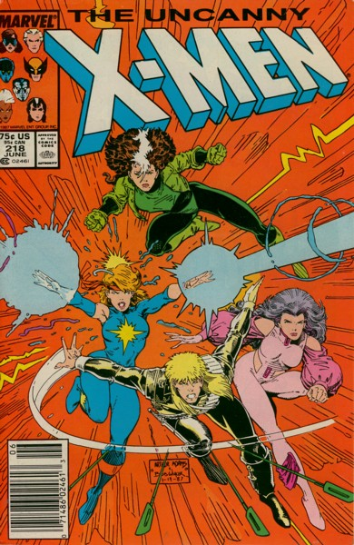 Uncanny X-Men 218 - Charge of the Light Brigade