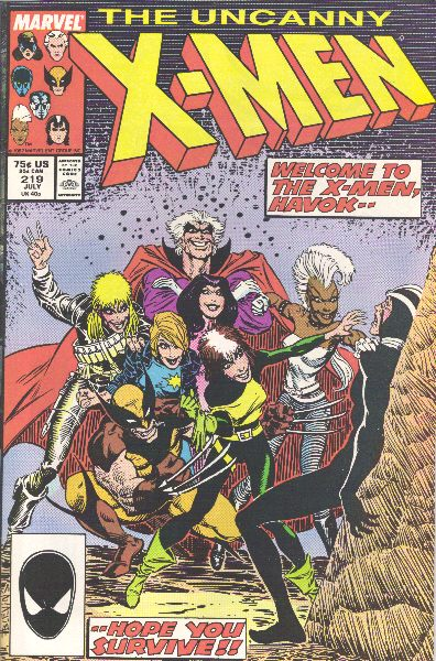 Uncanny X-Men 219 - Where Duty Lies