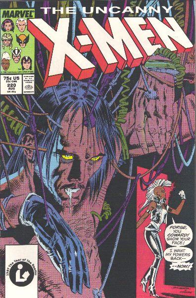 Uncanny X-Men 220 - Unfinished Business