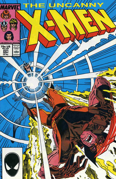 Uncanny X-Men 221 - Death by Drowning!