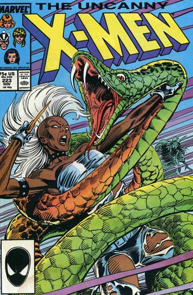Uncanny X-Men 223 - Omens & Portents