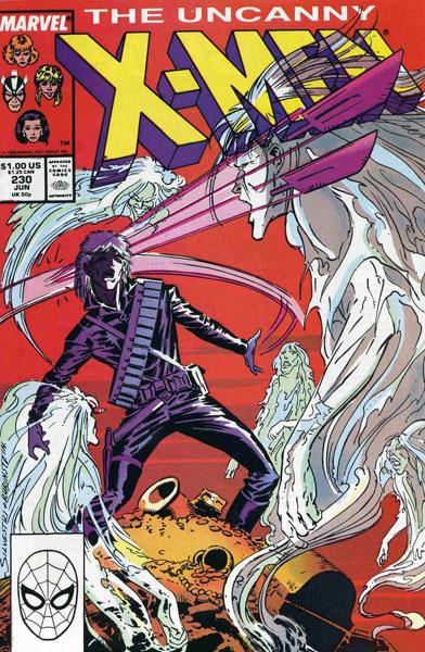 Uncanny X-Men 230 - 'Twas the Night...