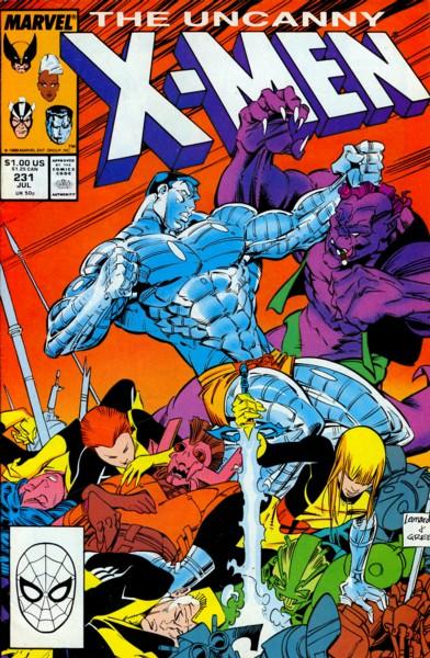 Uncanny X-Men 231 - ...Dressed for Dinner!