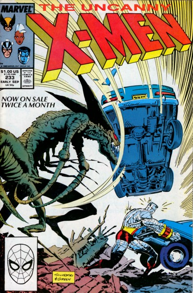 Uncanny X-Men 233 - Dawn of Blood