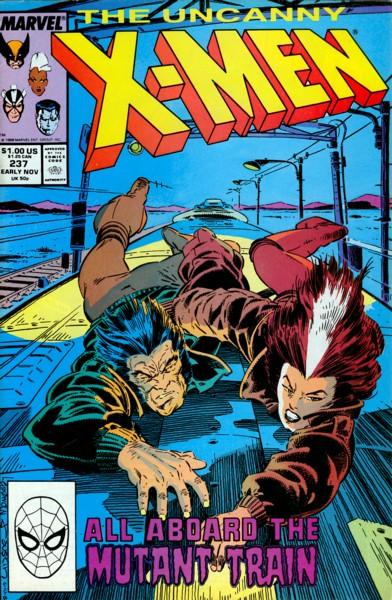 Uncanny X-Men 237 - Who's Human?