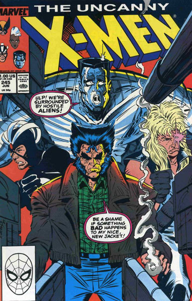 Uncanny X-Men 245 - Men!