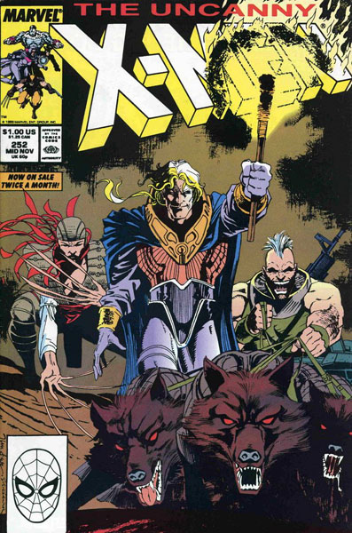 Uncanny X-Men 252 - Where's Wolverine?!?