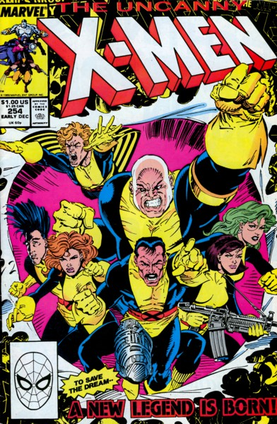 Uncanny X-Men 254 - All-New, All-Different -- Here We Go Again!