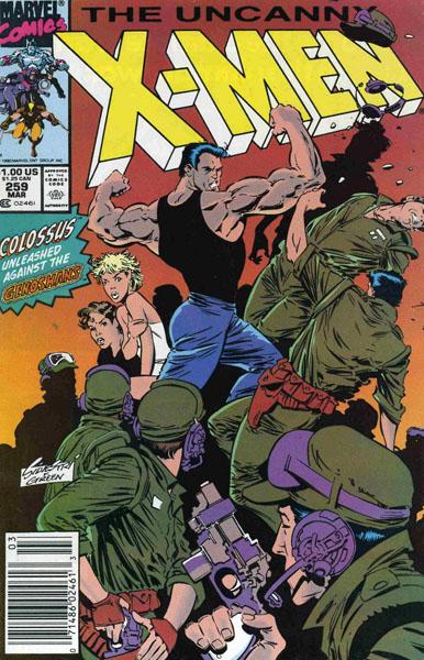 Uncanny X-Men 259 - Dream a Little Dream