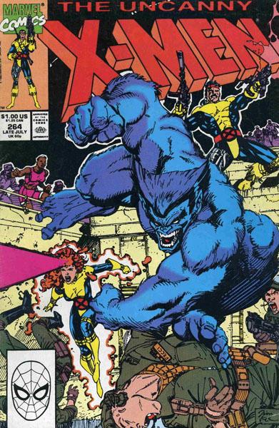 Uncanny X-Men 264 - Hot Pursuit
