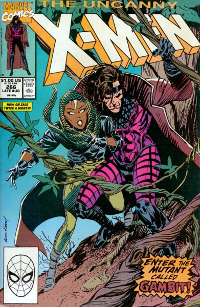 Uncanny X-Men 266 - Gambit (Out of the Frying Pan)