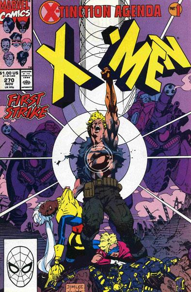 Uncanny X-Men 270 - The X-Tinction Agenda: First Strike