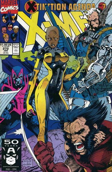 Uncanny X-Men 272 - Capital Crimes