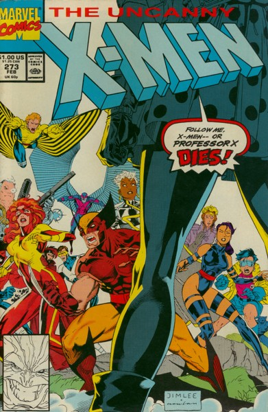 Uncanny X-Men 273 - Too Many Mutants! or Whose House is This Anyway?