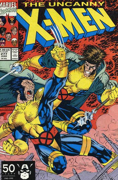 Uncanny X-Men 277 - Free Charley