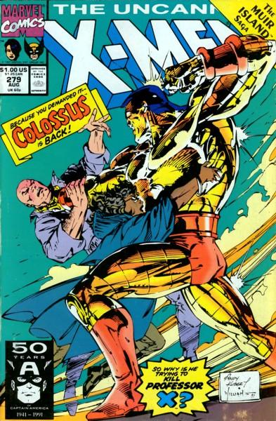 Uncanny X-Men 279 - Bad to the Bone