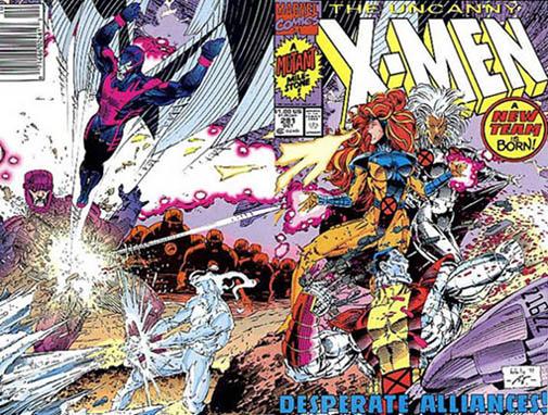 Uncanny X-Men 281 - Fresh Upstart
