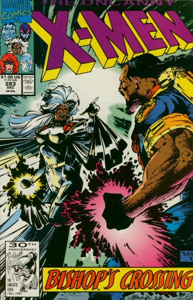Uncanny X-Men 283 - Bishop's Crossing