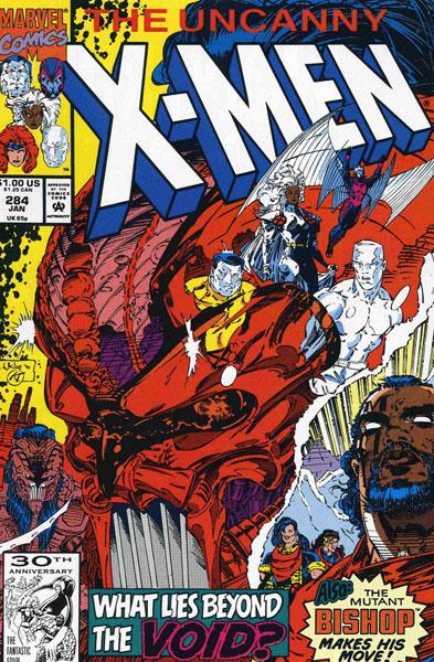 Uncanny X-Men 284 - Into the Void