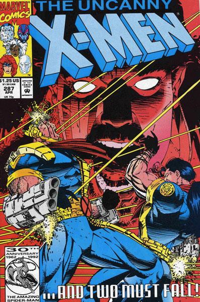 Uncanny X-Men 287 - Bishop to King's Five!