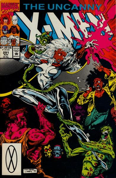 Uncanny X-Men 291 - Underbelly
