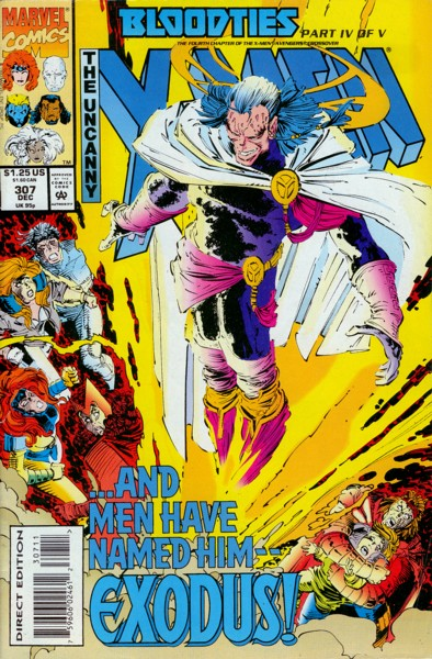 Uncanny X-Men 307 - Night and Fog