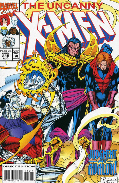 Uncanny X-Men 315 - Peers