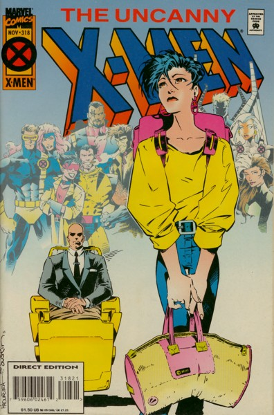 Uncanny X-Men 318 - Moving Day