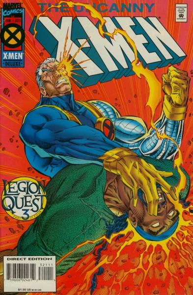 Uncanny X-Men 321 - Auld Lang Syne
