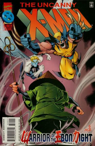 Uncanny X-Men 329 - Warriors of the Ebon Night