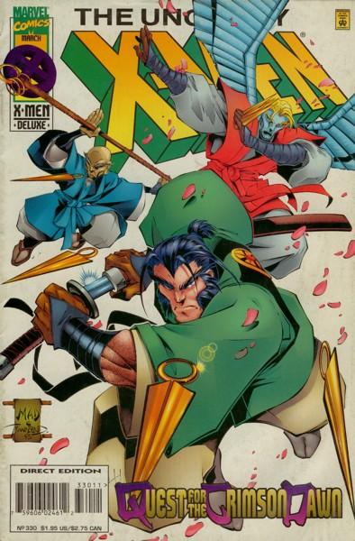 Uncanny X-Men 330 - Quest for the Crimson Dawn