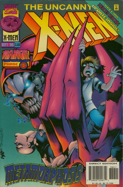 Uncanny X-Men 336 - A Voice As Deep As Thunder