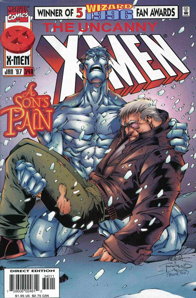 Uncanny X-Men 340 - Relativity