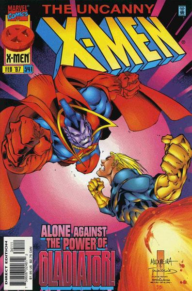 Uncanny X-Men 341 - When Strikes a Gladiator!