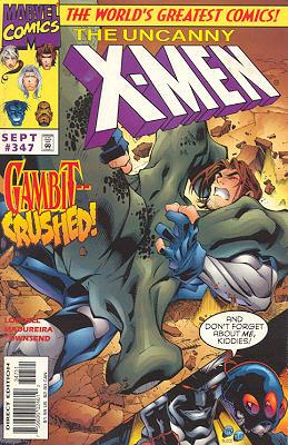 Uncanny X-Men 347 - Big Night