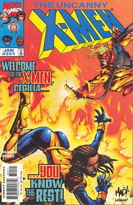 Uncanny X-Men 351 - Hours & Minutes