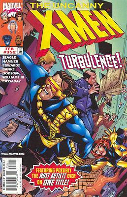 Uncanny X-Men 352 - In Sin Air