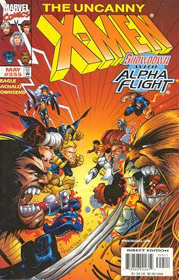 Uncanny X-Men 355 - North & South