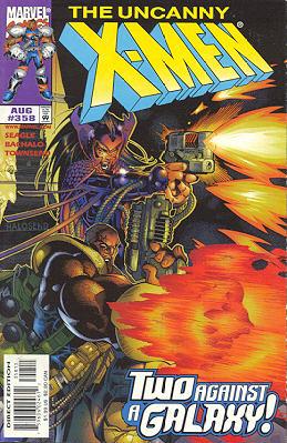 Uncanny X-Men 358 - Lost in Space