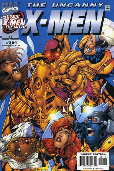 Uncanny X-Men 384 - Crimson Pirates