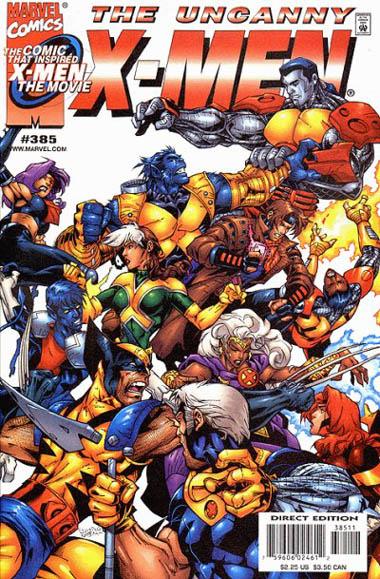 Uncanny X-Men 385 - Shell Game