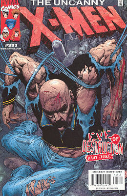 Uncanny X-Men 393 - Like Lambs to the Slaughter!